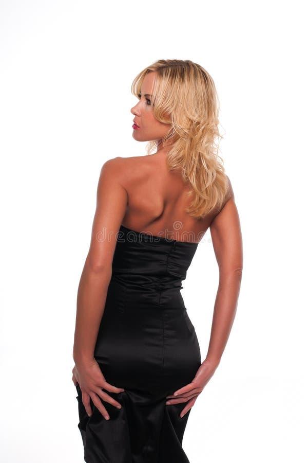 czarny suknia fotografia stock