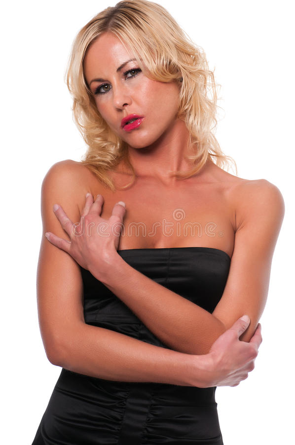 Czarny suknia zdjęcia stock