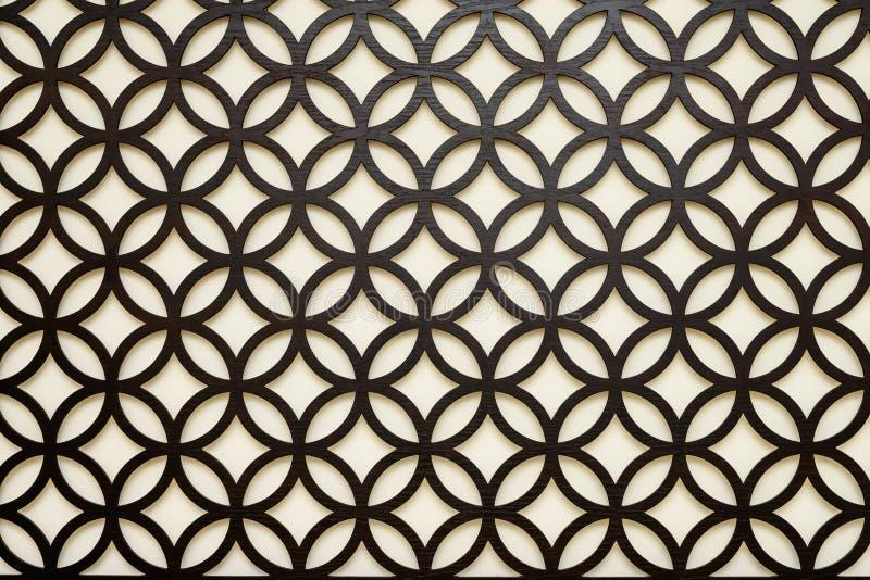 Czarny symetryczny języka arabskiego stylu tło obrazy stock