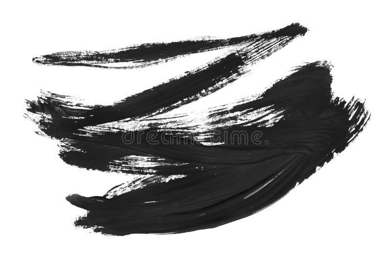 czarny szczotkarscy uderzenia ilustracji
