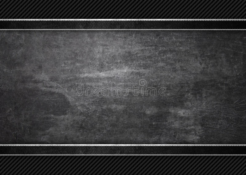 Czarny tło grunge metalu tekstury tekstura obrazy stock