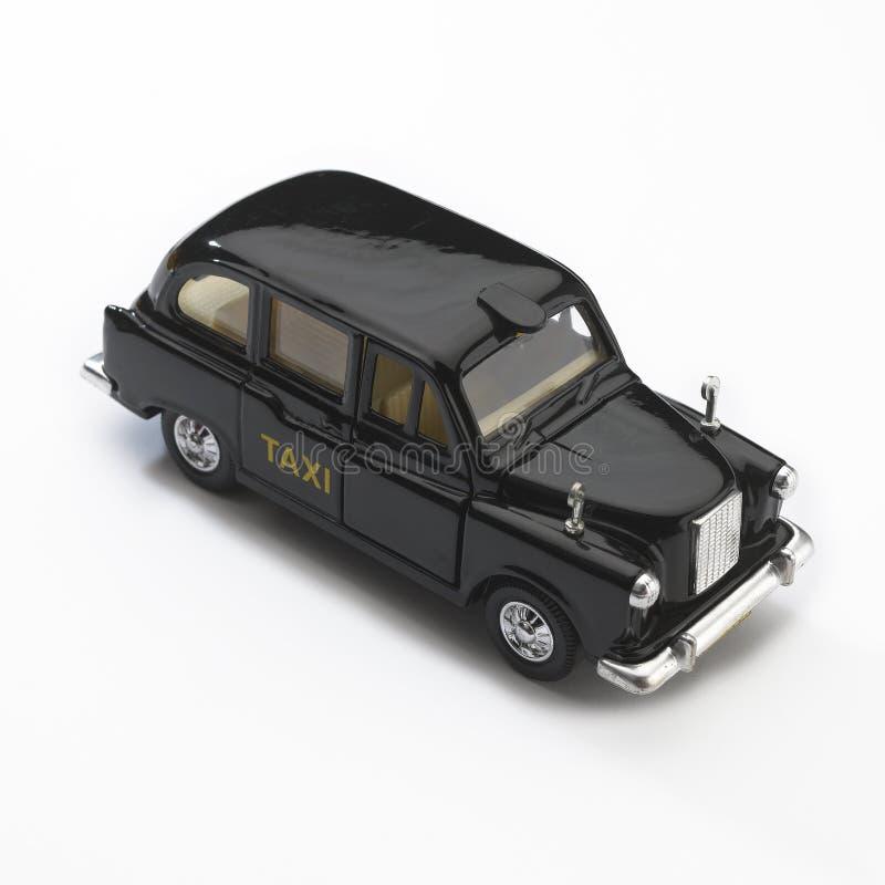 czarny taksówki London modela taxi fotografia royalty free