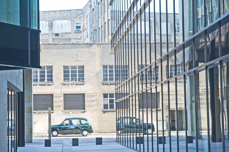 czarny taksówki miasta taxi zdjęcia stock