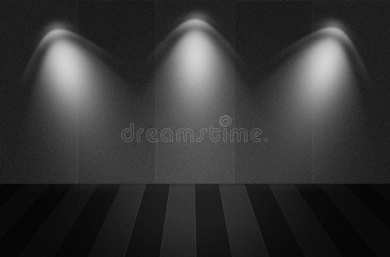 Czarny tekstury tło lub scena ilustracji