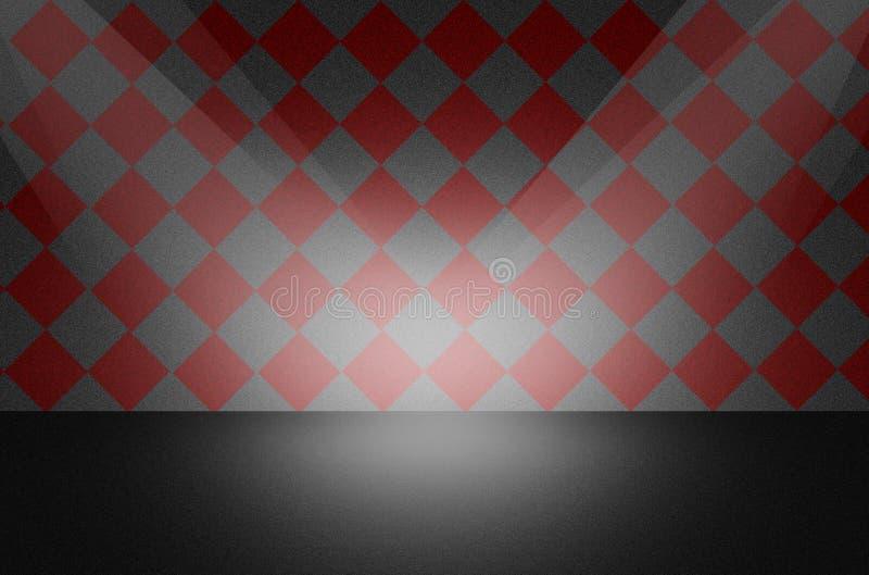 Czarny tekstury tło lub scena royalty ilustracja