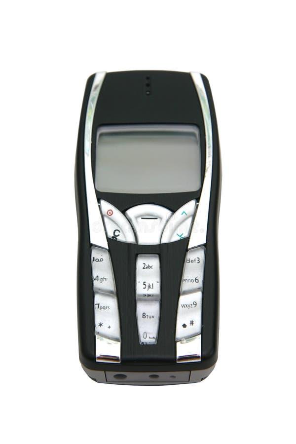 czarny telefon zdjęcia stock