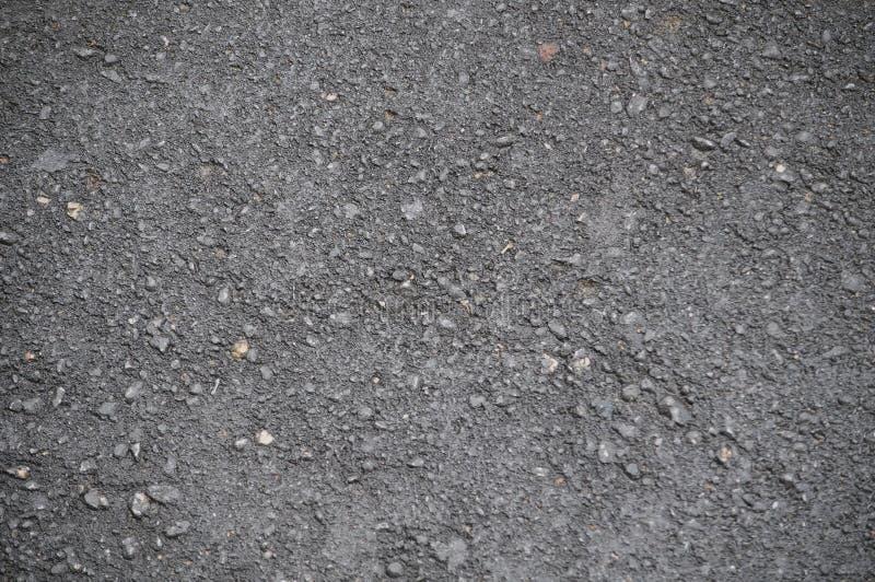 Czarny textured asfalt fotografia royalty free
