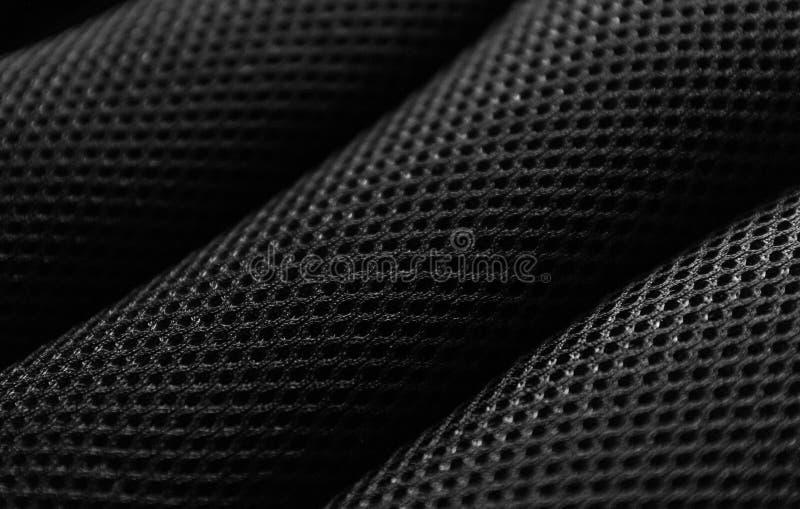 Czarny tkanina wzór fotografia stock