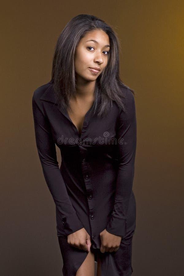 czarny ubiór nastolatków. obrazy royalty free