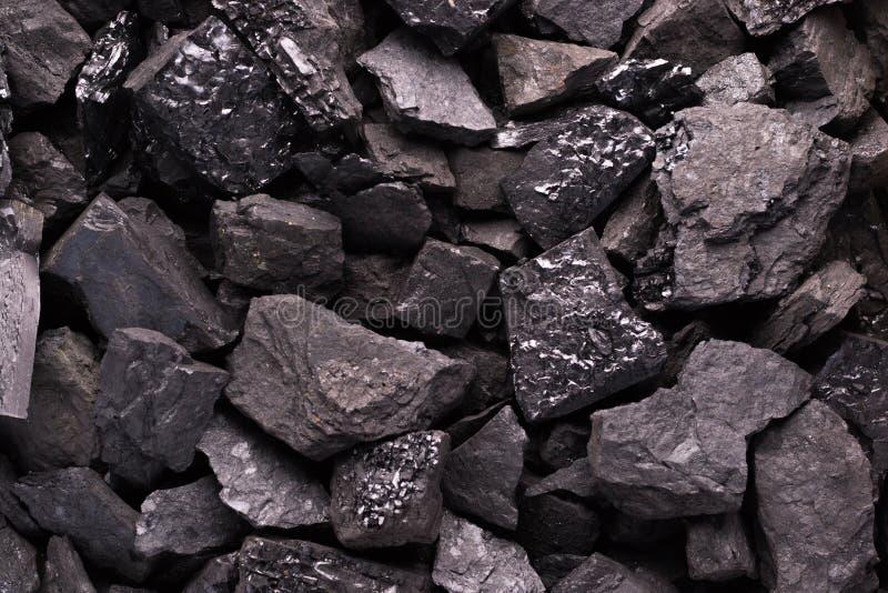 Czarny węgiel ważny plan zdjęcie royalty free