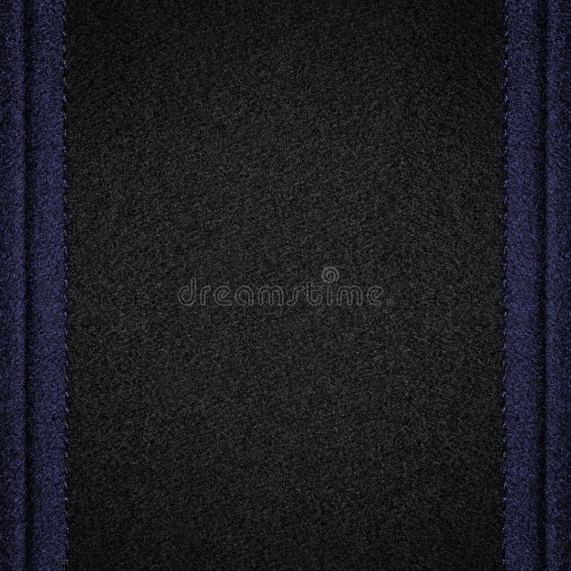 Czarny wełny tło fotografia royalty free