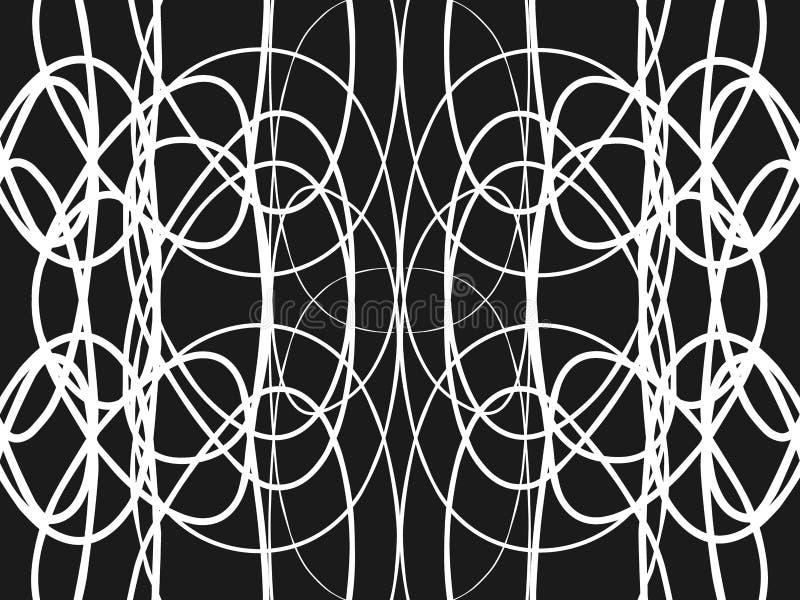 czarny white ilustracji