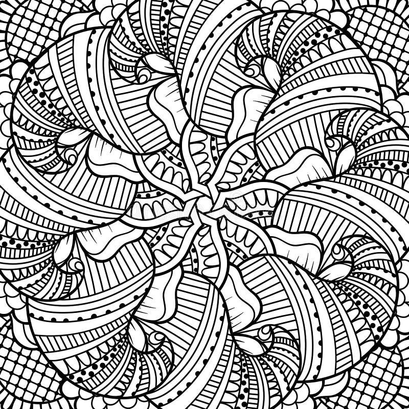 czarny white wzoru ilustracji