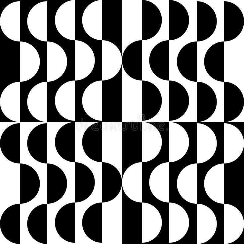Download Czarny white wzoru ilustracji. Ilustracja złożonej z ornament - 65226412