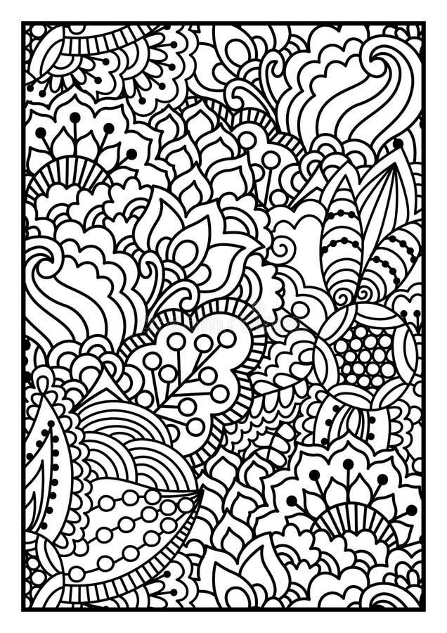 czarny white wzoru royalty ilustracja