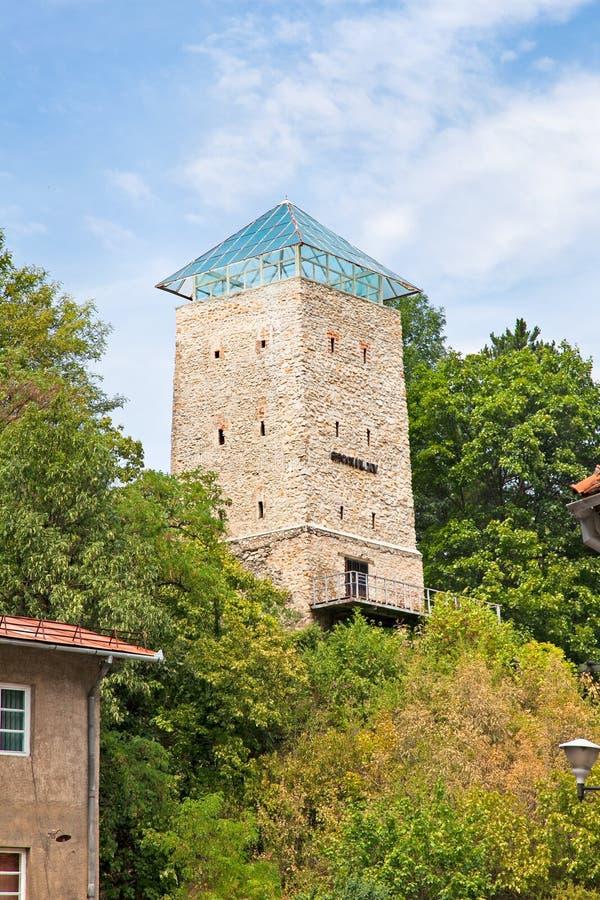 Czarny wierza w Brasov, Transylvania, Rumunia obraz royalty free