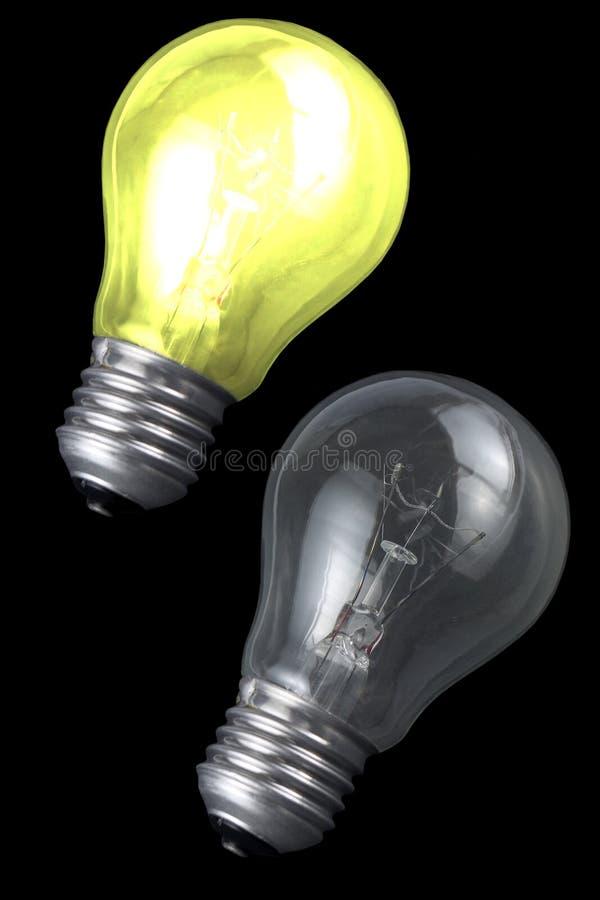 Czarnych Tła Kwiatowych światło świeciło Fotografia Stock