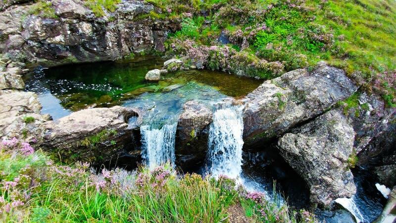 Czarodziejka baseny na wyspie Skye zdjęcia royalty free