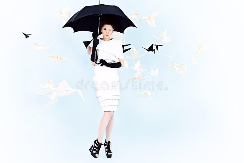 Czarodziejka deszcz obrazy royalty free