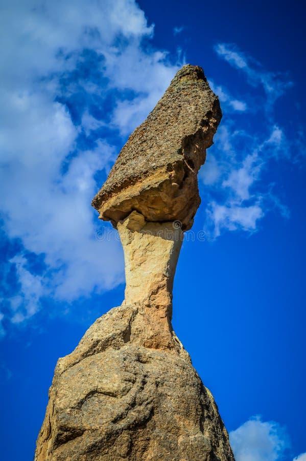 Czarodziejscy kominy w Goreme zdjęcie royalty free