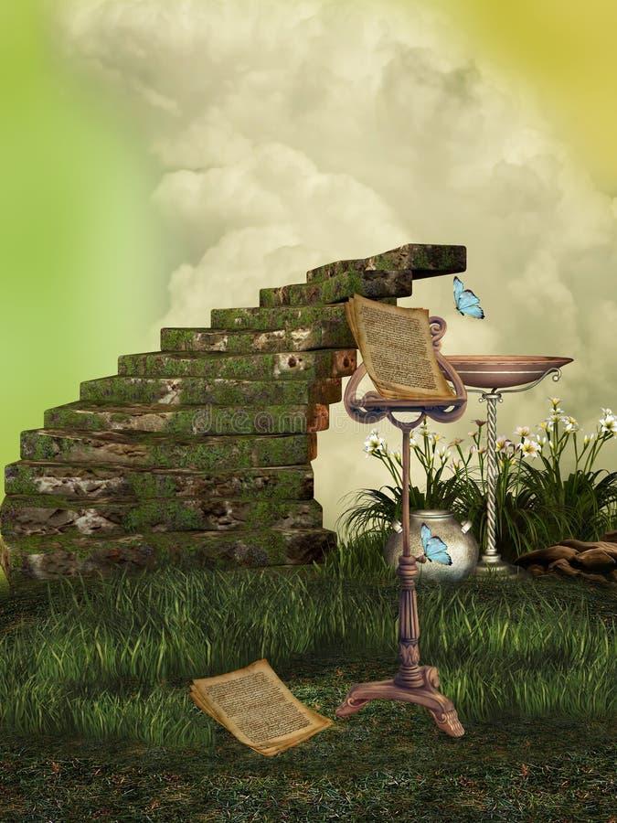 czarodziejska muzyka ilustracja wektor