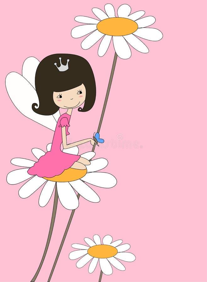czarodziejski kwiat ilustracji