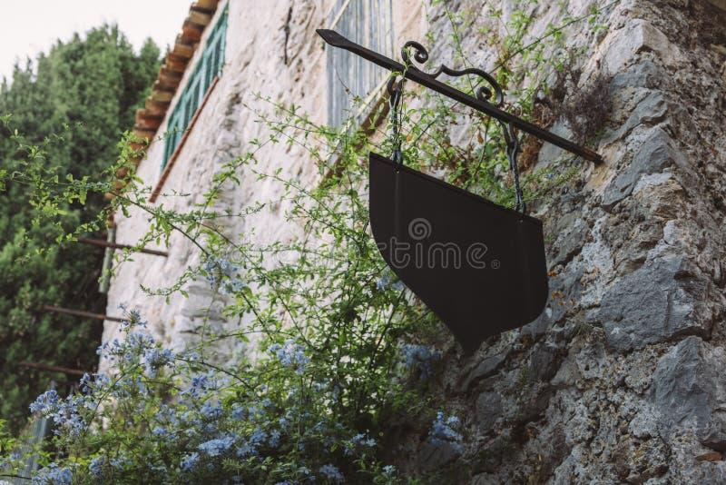 Czarować Provencal dom w Eze, Cote d ` Azur, Francja obrazy stock