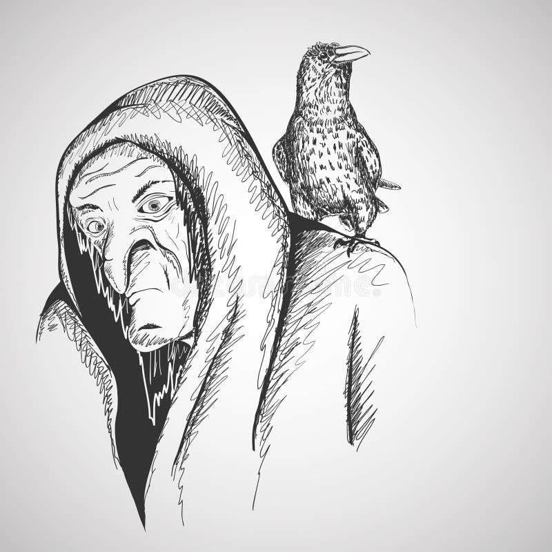 Czarownica ilustracji