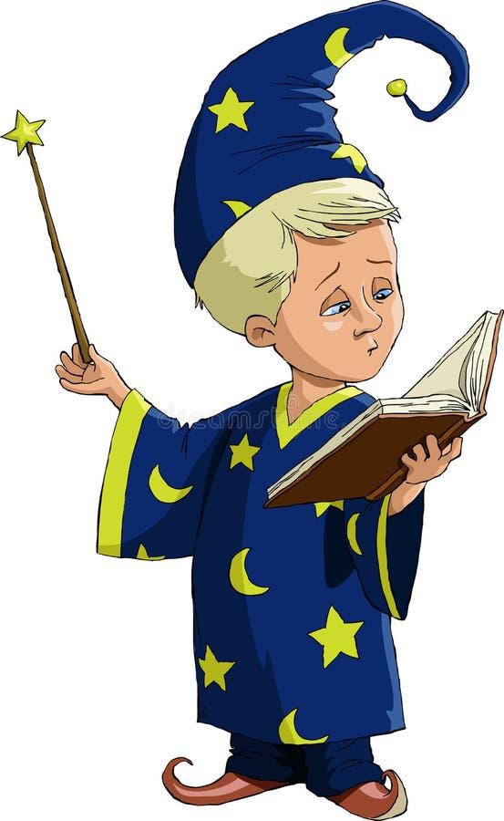 czarowników potomstwa royalty ilustracja