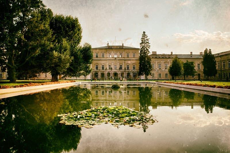 Czartoryski palace in Puławy. Lubielskie, Poland royalty free stock images