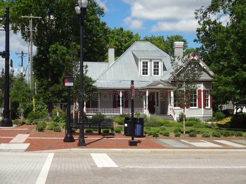 Czarujący do domu w Cary, Pólnocna Karolina obrazy stock