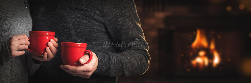 Czas Dla kawy zdjęcia stock