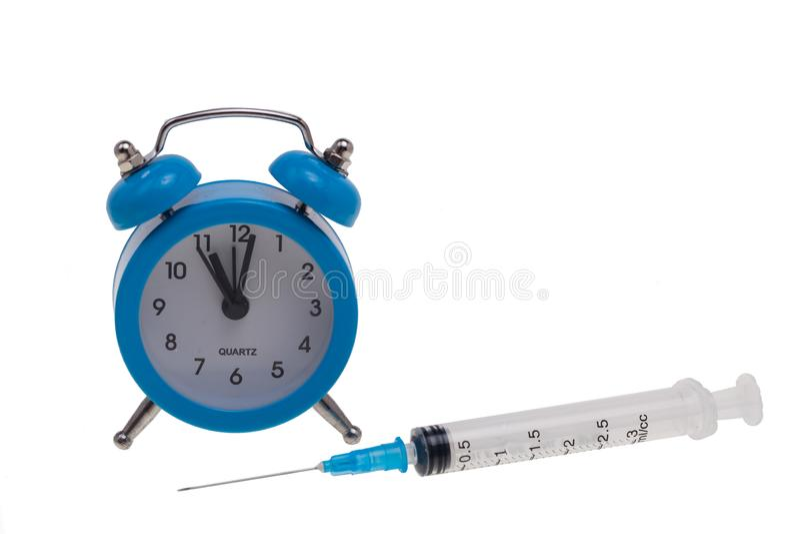 Czas dla medycznych procedur obrazy royalty free