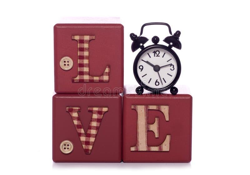 Czas dla miłości zdjęcie stock