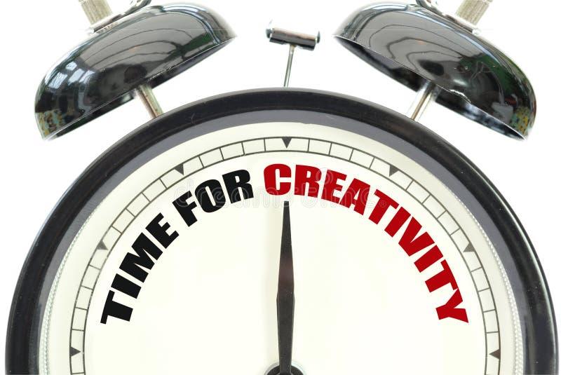 Czas dla twórczości obrazy stock