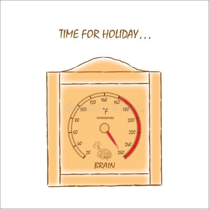 Czas dla wakacje obrazy stock