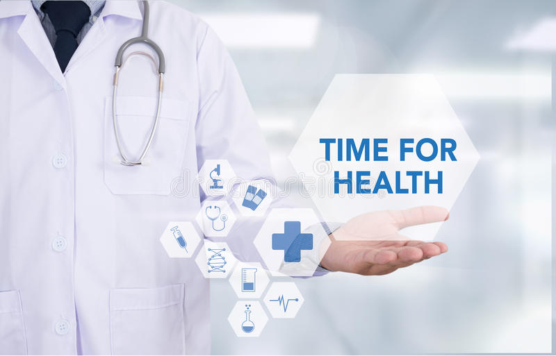Czas dla zdrowie zdjęcie royalty free