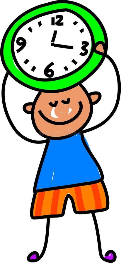 czas dziecka ilustracji