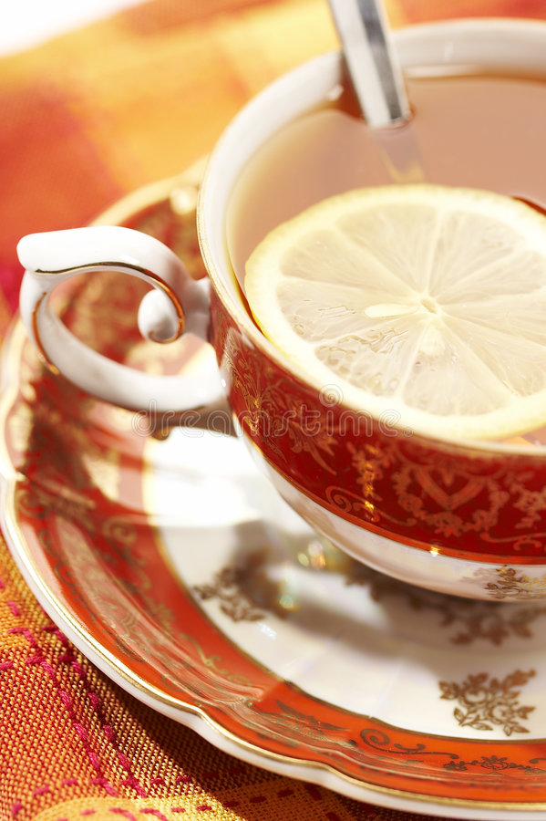 czas herbaty obrazy stock