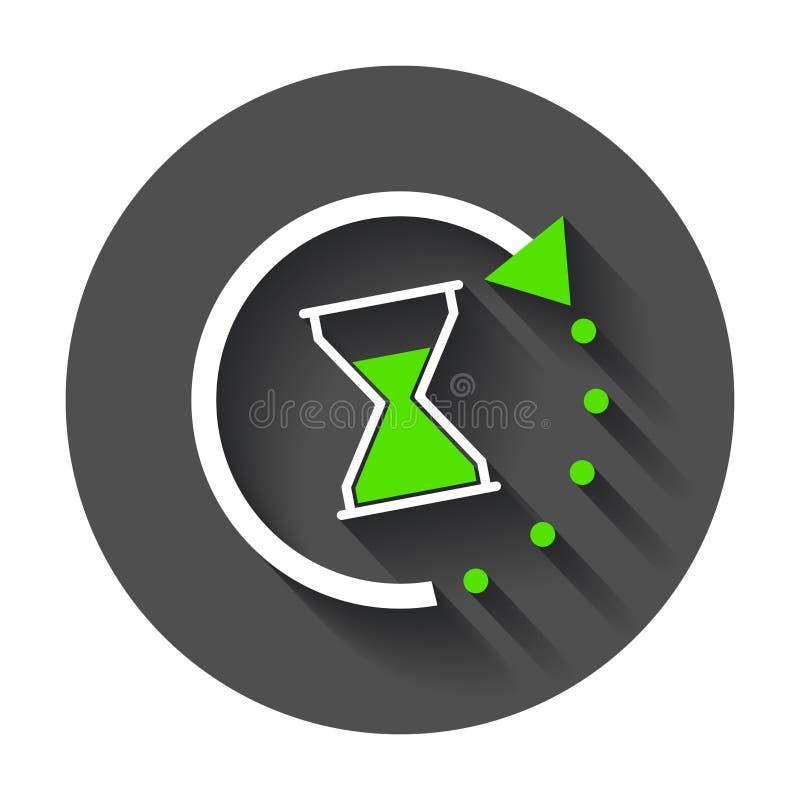 Czas ikona ilustracja wektor