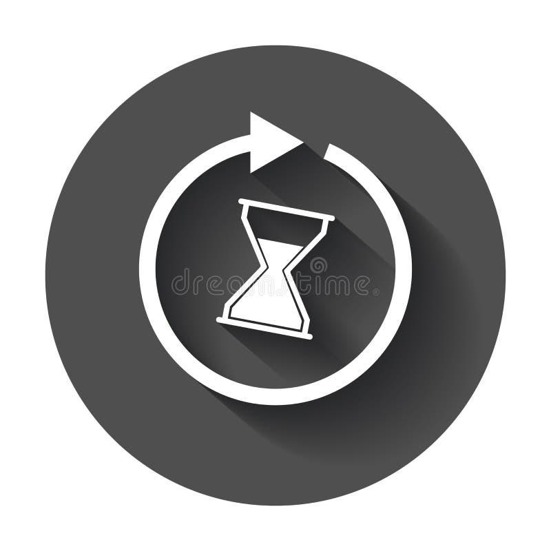 Czas ikona ilustracji