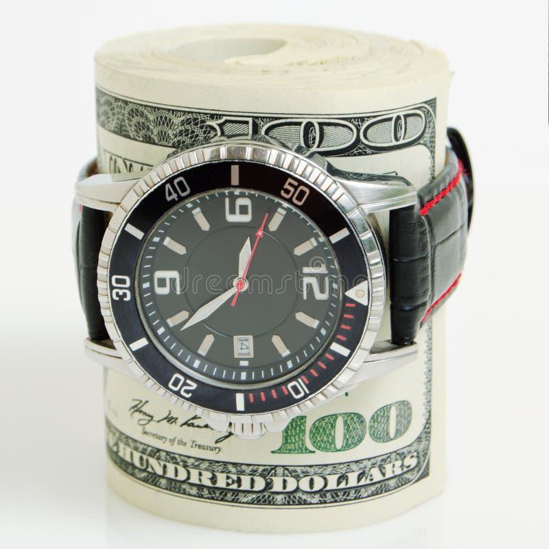 Czas jest pieniądze! zdjęcia stock