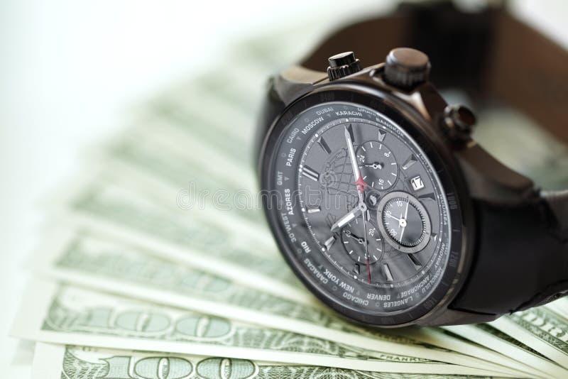 Czas jest pieniądze zdjęcie royalty free