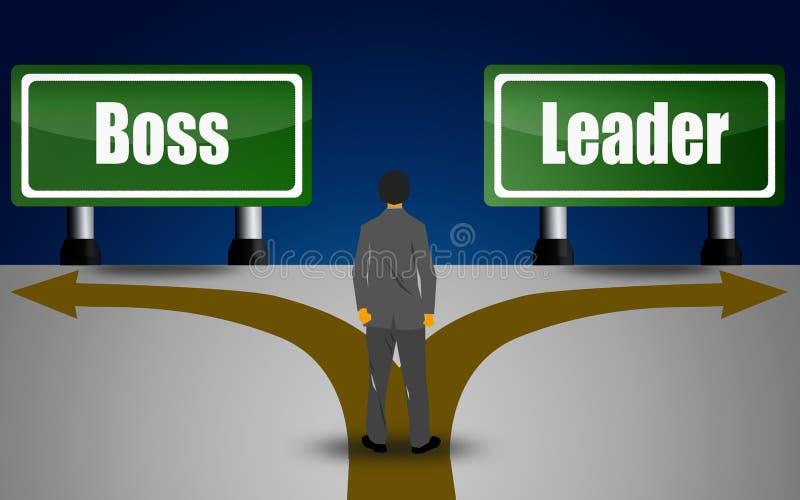 Czas, lider, lub royalty ilustracja