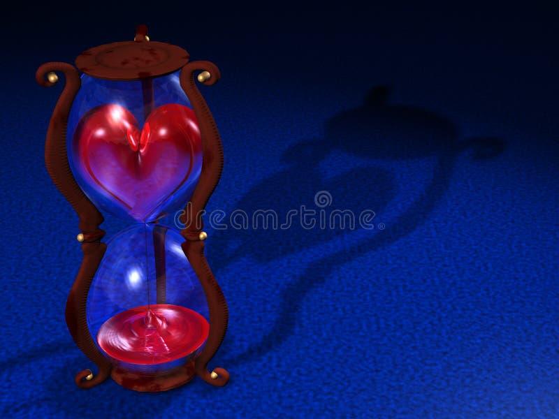 czas miłości. ilustracji