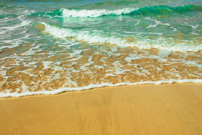 czas na plaży zdjęcia stock
