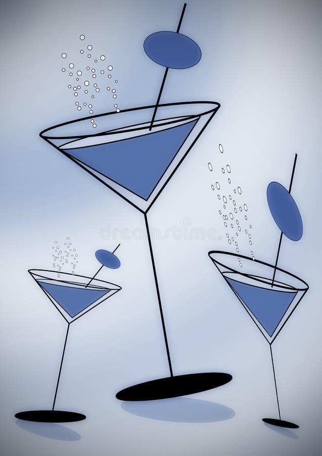 czas na zabawę, niebieski royalty ilustracja
