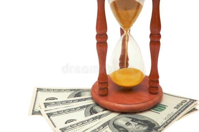 czas, pieniądze zdjęcia stock