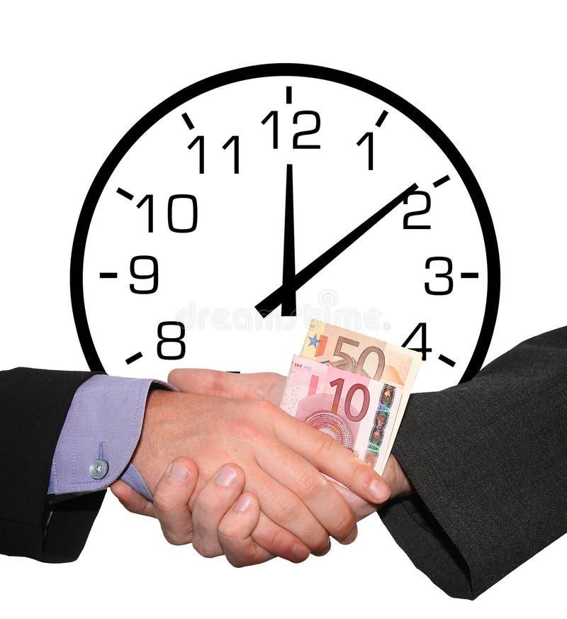 Download Czas, pieniądze obraz stock. Obraz złożonej z banknot, pośpiech - 167399