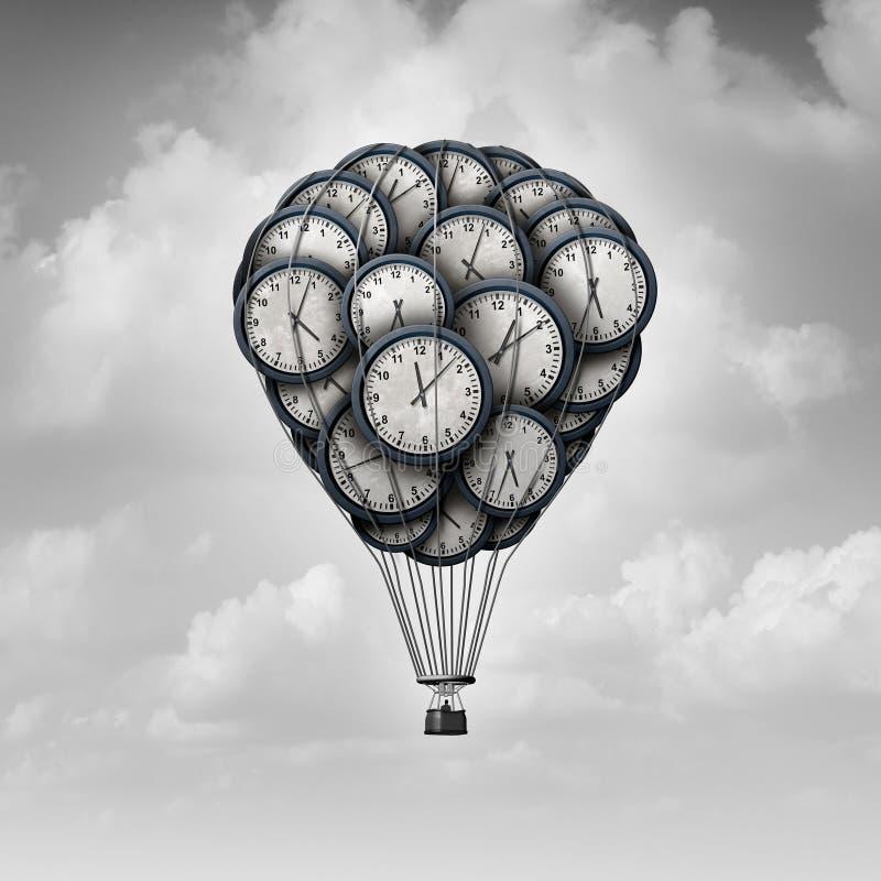 Czas podróży pojęcie ilustracja wektor